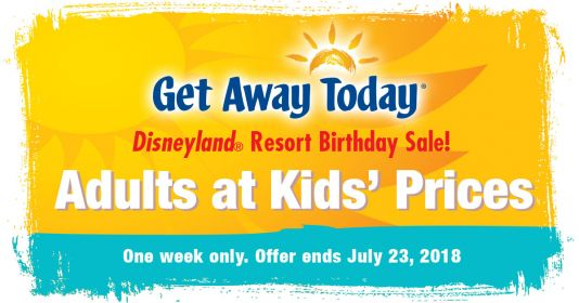 Get-Away-Today is celebrating Disneyland's Birthday!!